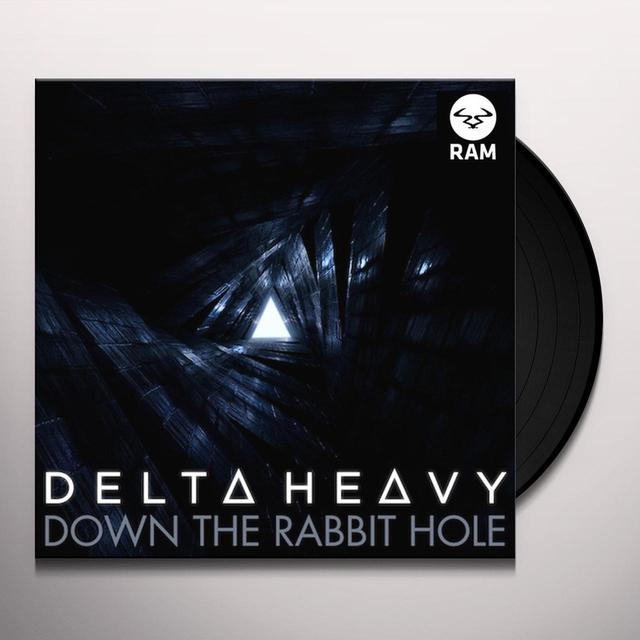 Delta Heavy DOWN THE RABBIT HOLE Vinyl Record