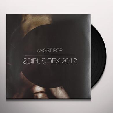 Angst Pop ODIPUS REX 2012 (BLUE VINYL) Vinyl Record