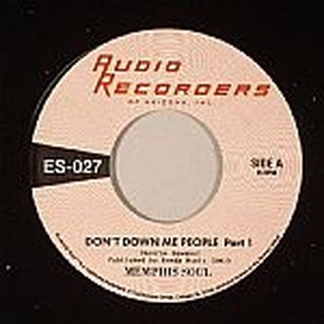 Memphis Soul DON'T DOWN ME PEOPLE Vinyl Record