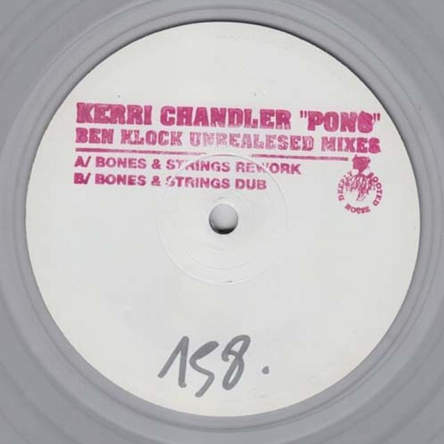 Kerri Chandler PONG Vinyl Record