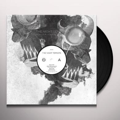 Night Terrors MONSTER/LASERS FOR EYES Vinyl Record