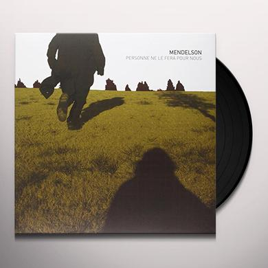 Mendelson PERSONNE NE LE FERA POUR NOUS Vinyl Record