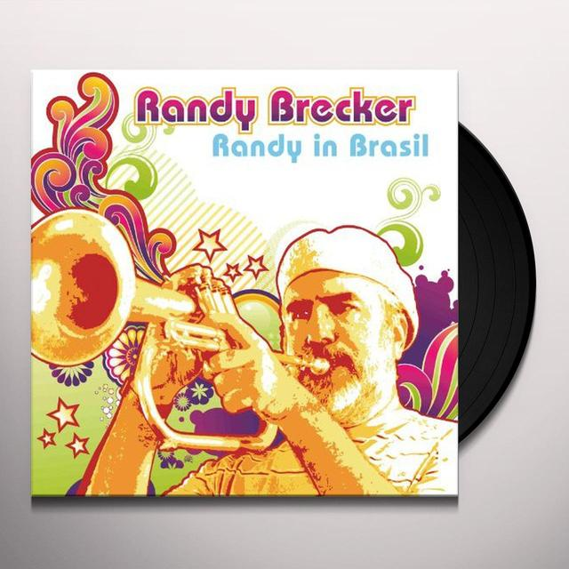 Randy Brecker RANDY IN BRASIL (GER) Vinyl Record