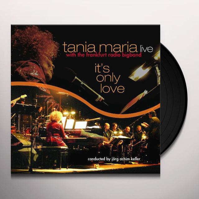 Tania Maria & Her Big Band IT'S ONLY LOVE Vinyl Record