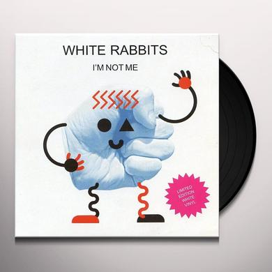 White Rabbits I'M NOT ME Vinyl Record - UK Import
