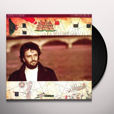 Ivano Fossati LA PIANTA DEL TE' Vinyl Record - Italy Import