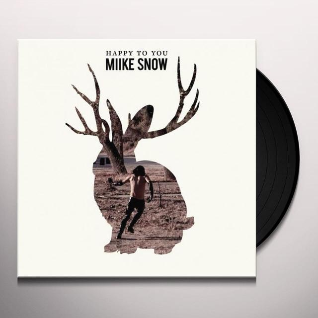 Miike Snow HAPPY TO YOU Vinyl Record - Holland Release