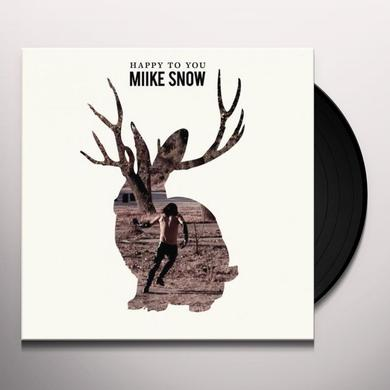 Miike Snow HAPPY TO YOU Vinyl Record - Holland Import