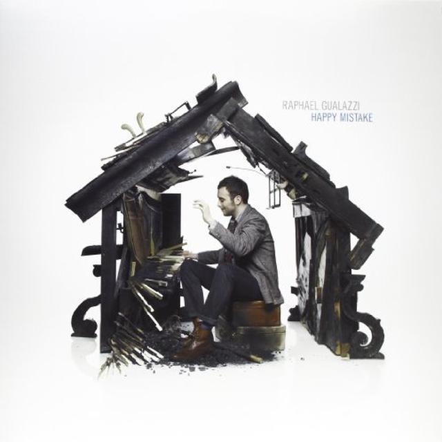 Raphael Gualazzi HAPPY MISTAKE Vinyl Record - Italy Import