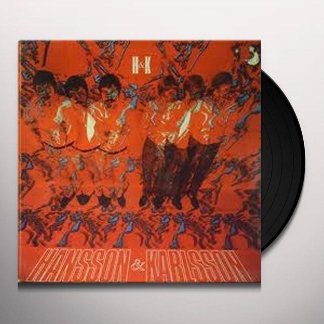 Hansson & Karlsson MONUMENT Vinyl Record - Sweden Import