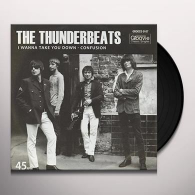 Thunderbeats I WANNA TAKE YOU DOWN Vinyl Record