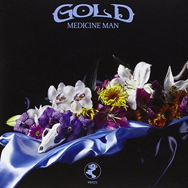 Gold GONE UNDER (COLOURED VINYL) Vinyl Record - Holland Import