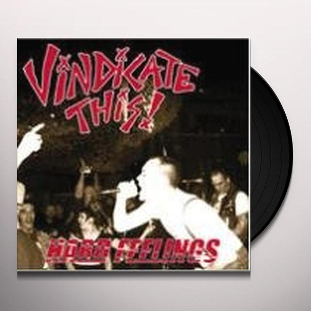 Vindicate This HARD FEELINGS Vinyl Record - Sweden Import