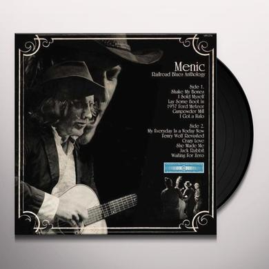 Menic RAILROAD BLUES ANTHOLOGY Vinyl Record