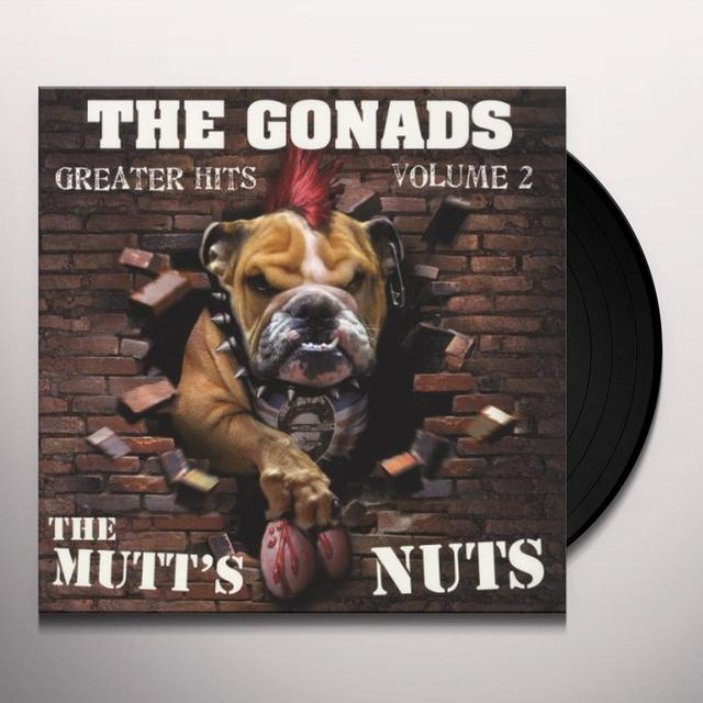 Gonads VOL. 2-GREATER HITS (GER) Vinyl Record