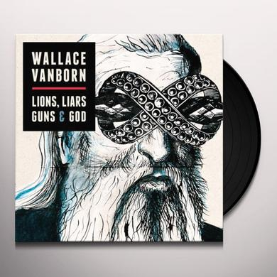 Wallace Vanborn LIONS LIARS GUNS & GOD (GER) Vinyl Record
