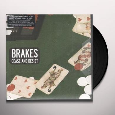Brakes CEASE & DESIST Vinyl Record - Holland Import