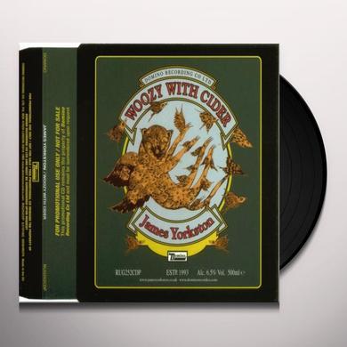 James Yorkston WOOZY WITH CIDER Vinyl Record - Australia Import