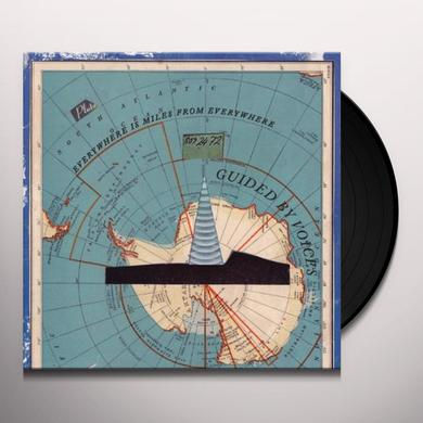 Guided By Voices EVERYWHERE IS MILES FROM EVERYWHERE Vinyl Record - UK Import