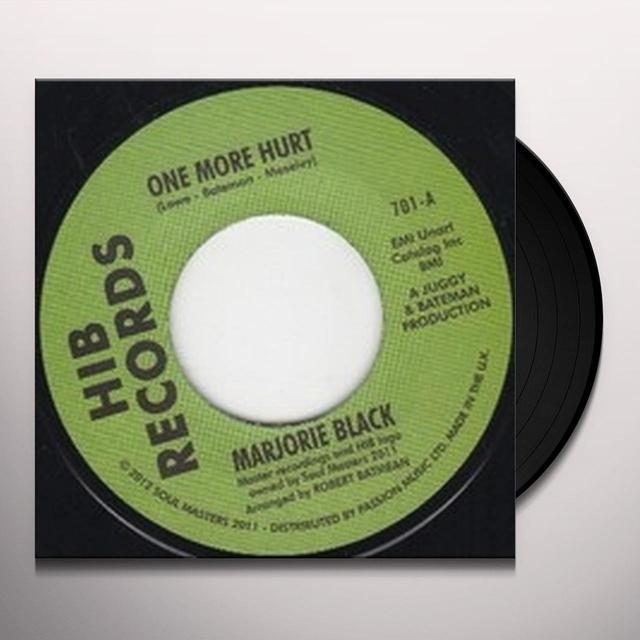 Marjorie Black ONE MORE HURT Vinyl Record - UK Release