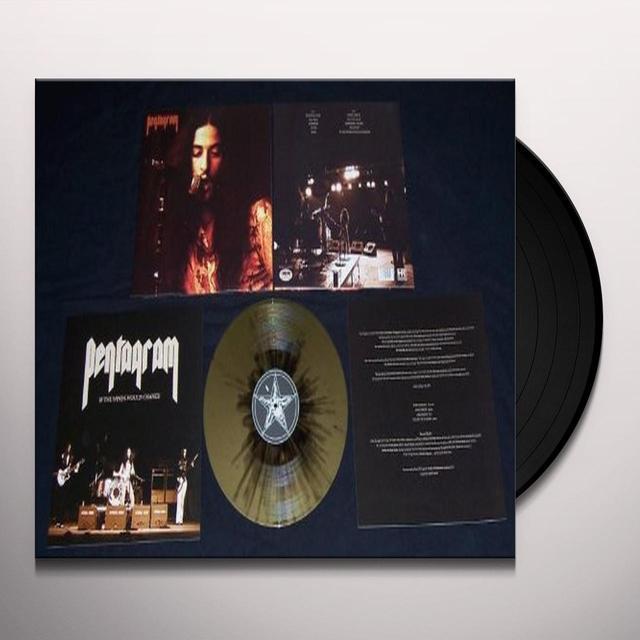 Pentagram IF THE WINDS WOULD CHANGE (GOLD-BLACK SPLATTER VIN Vinyl Record