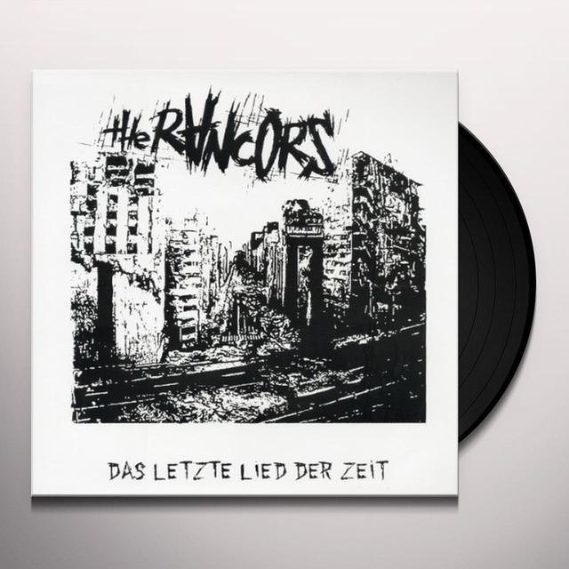 Rancors DAS LETZTE LIED DER ZEIT Vinyl Record