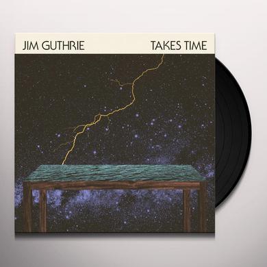 Jim Guthrie TAKES TIME Vinyl Record