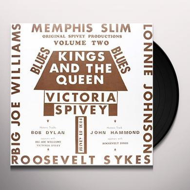 Victoria Spivey KINGS & THE QUEEN Vinyl Record - Italy Import