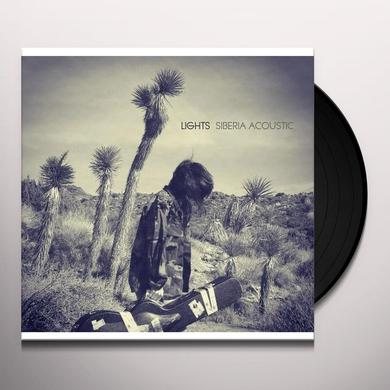 Lights SIBERIA ACOUSTIC Vinyl Record - Canada Import