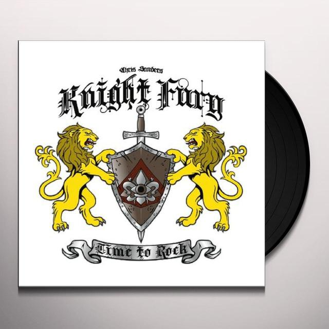 Knight Fury TIME TO ROCK Vinyl Record