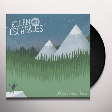 Ellen & The Escapades ALL THE CROOKED SCENES Vinyl Record