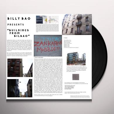 Billy Bao BUILDINGS FROM BILBAO Vinyl Record