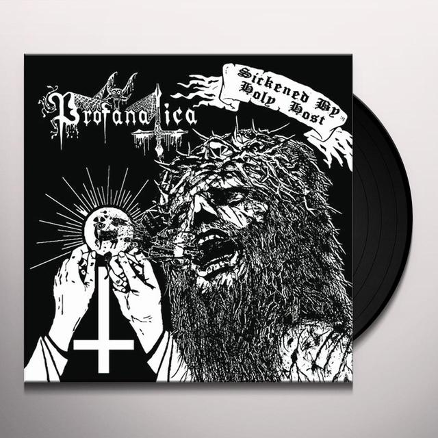 Profanatica SICKENED BY Vinyl Record - Holland Import
