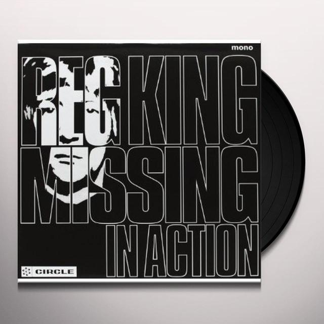 Reg King MISSING IN ACTION Vinyl Record - UK Import