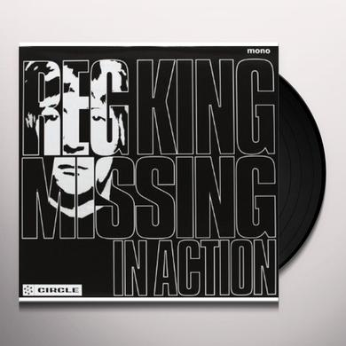 Reg King MISSING IN ACTION Vinyl Record - UK Import