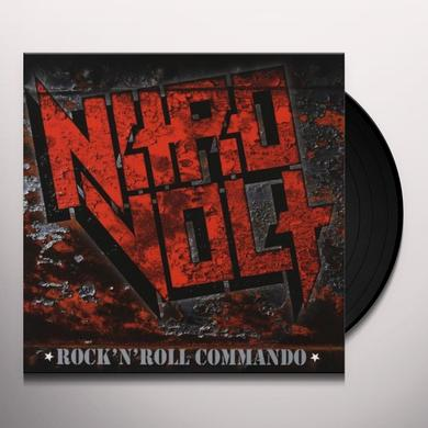Nitrovolt ROCK'N'ROLL COMMANDO Vinyl Record