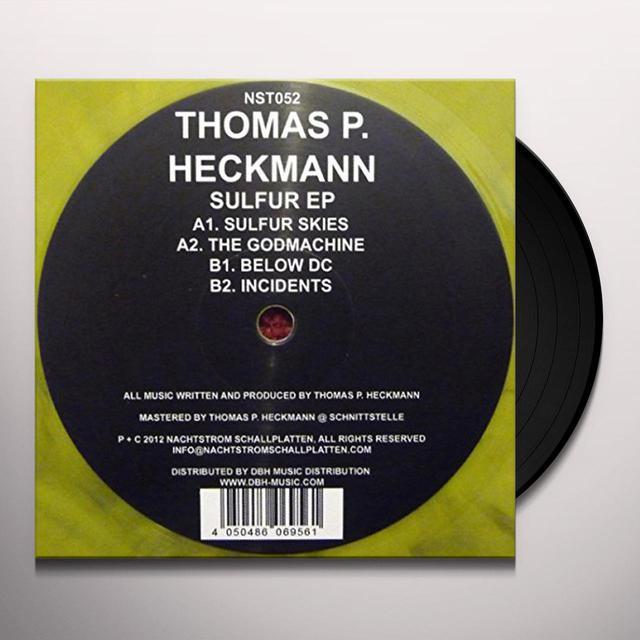 Thomas P Heckmann SULFUR Vinyl Record