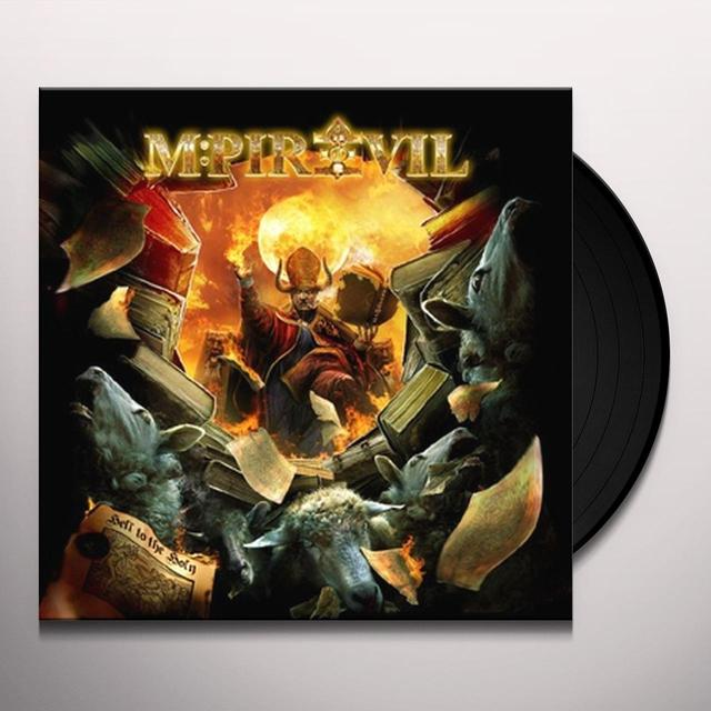 Mpire Of Evil HELL TO THE HOLY Vinyl Record - Holland Release
