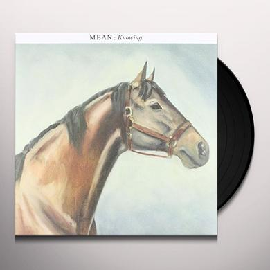 Mean KNOWING Vinyl Record - Portugal Import