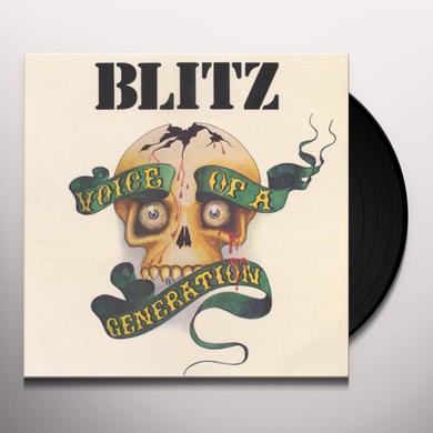 Blitz VOICE OF A GENERATION Vinyl Record - Portugal Import