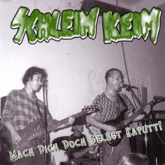 Schleimkeim MACH DICH DOCH SELBST KAPUTT! (GER) Vinyl Record