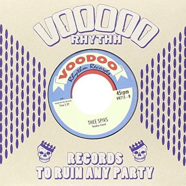 Thee Spive BULLET TRAIN/VOODOO ISLAND (GER) Vinyl Record