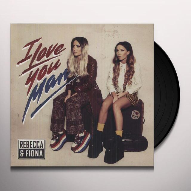 Rebecca & Fiona I LOVE YOU MAN Vinyl Record - Sweden Import