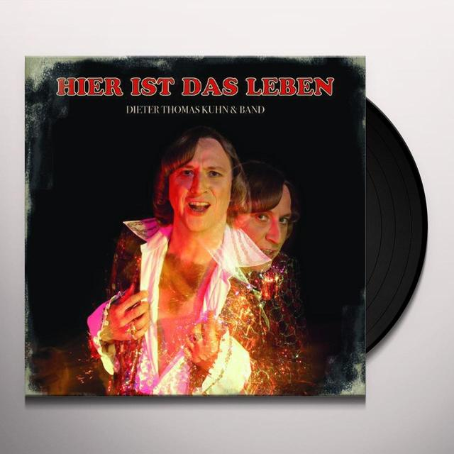 Dieter Thomas Kuhn & Ban HIER IST DAS LEBEN (GER) Vinyl Record
