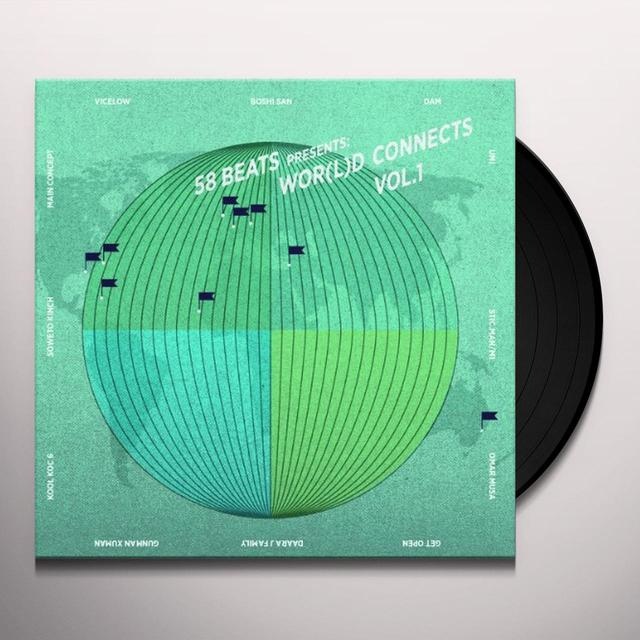 VOL. 1-58 BEATS PRESENTS: WOR(L)D CONNECTS Vinyl Record