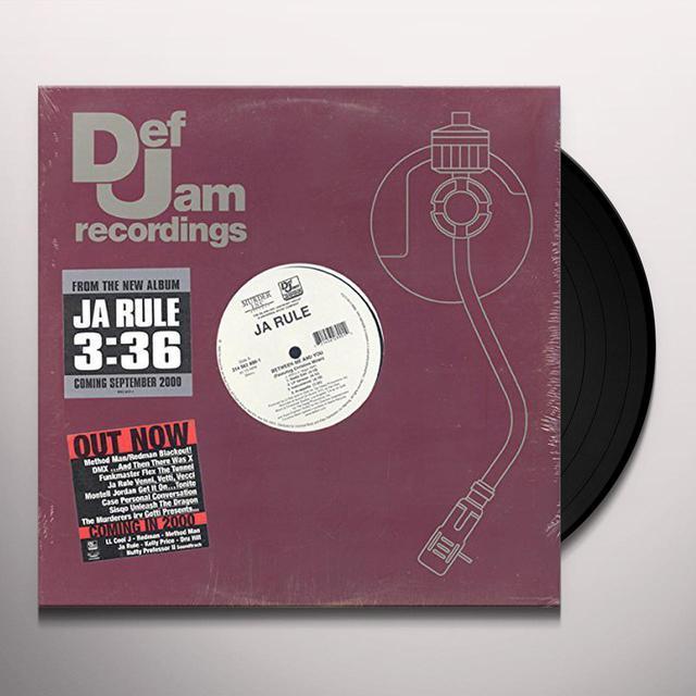 Ja Rule BETWEEN YOU & ME Vinyl Record