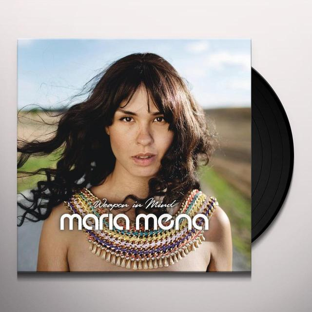 Maria Mena WEAPON IN MIND (GER) Vinyl Record