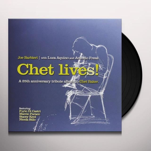 Joe Barbieri CHET LIVES! Vinyl Record