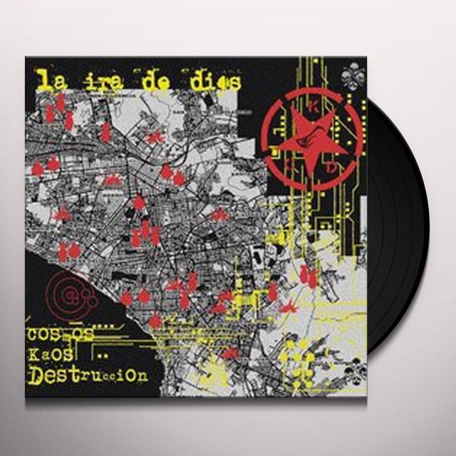 La Ira De Dios COSMOS KAOS DESTRUCCIO Vinyl Record