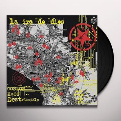 La Ira De Dios COSMOS KAOS DESTRUCCIO (GER) Vinyl Record